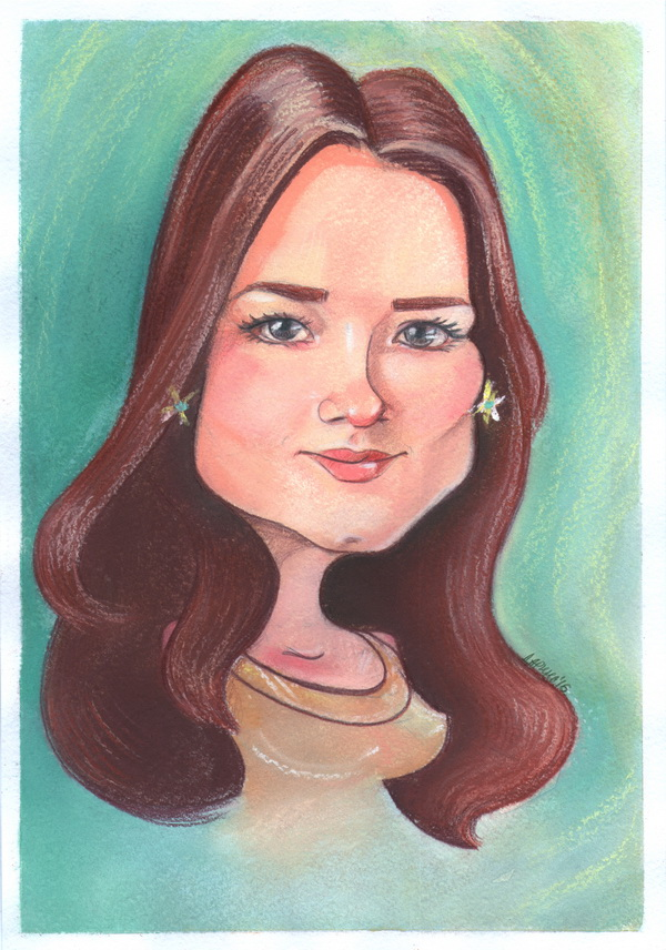 Портретный шарж бесплатно