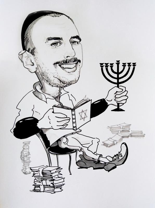 Шарж на иудея