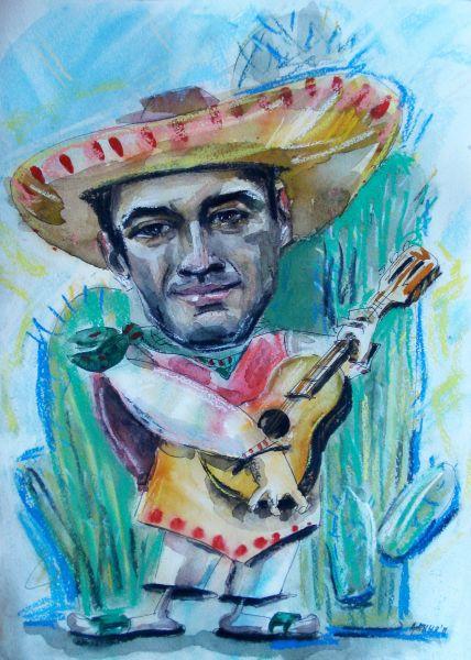 Шарж на мексиканца